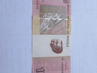 10 kvanzas , Angola , 2012