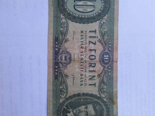10 forint , Vengrija , 1962