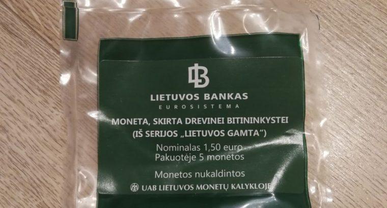 Bankinis maiselis pusantroku skirtu drevinei bitininkystei
