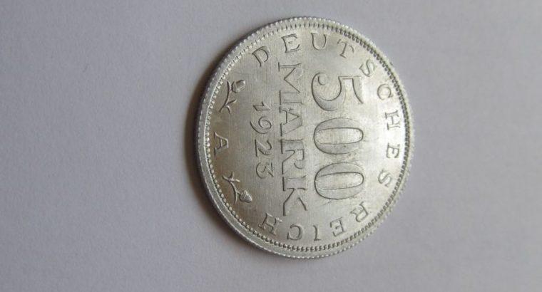 500 mark , Vokietija , 1923