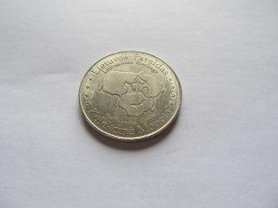 Kolekcinė Moneta – Gedimino Pilies Bokštas