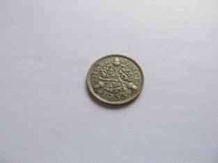 3 pence , Anglija , 1933 sidabras
