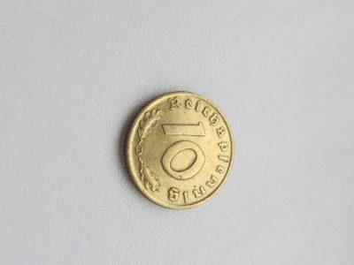 10 reichspfennig , Vokietija , 1939 D