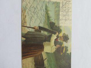 Vokiškas , 1910 , porelė prie valties