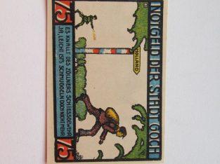 Notgeldas 75 pfennig , Goch Vokietija ,1922 -2