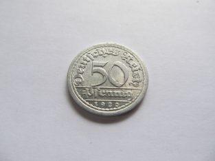 50 pfennig , Vokietija , 1920 J