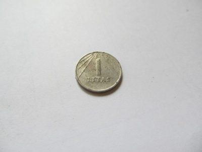 1 litas , Lietuva , 1991