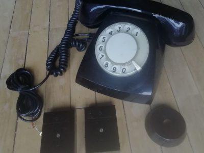 """Antikvarinis laidinis telefono aparatas """"TAH"""""""