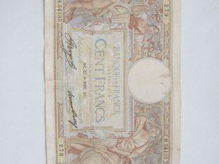 100 francs , Prancūzija , 1937