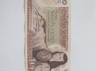 1000 pesos , Meksika , 1985