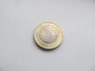 1000 pesos , Kolumbija , 2014