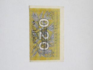 0 / 20 talono , Lietuva, 1991 .