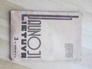 JAUNOJI LIETUVA , 1939-1940 / 3