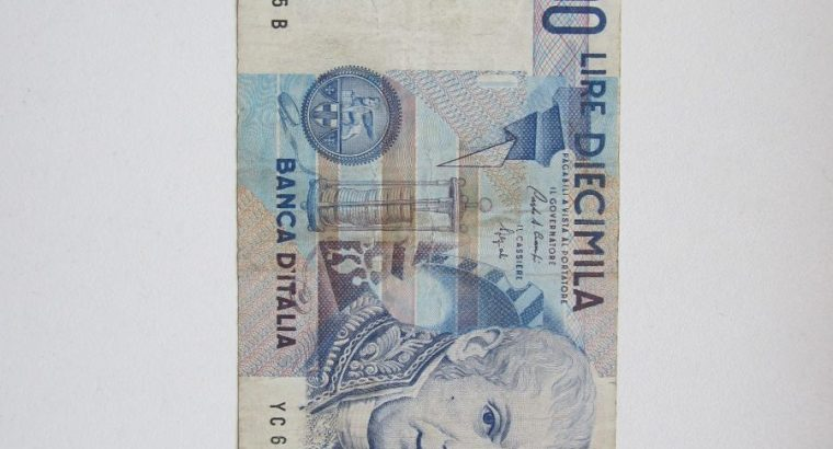 10 000 lire , Italija , 1984