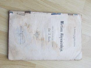 MIRTIES AKYVAIZDOJE , 1913