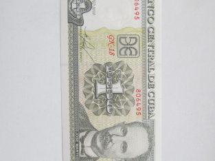 1 peso , Kuba , 2010 unc