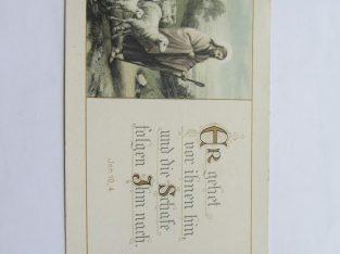 Šveicariškas atvirukas , 1919 , šventasis avys