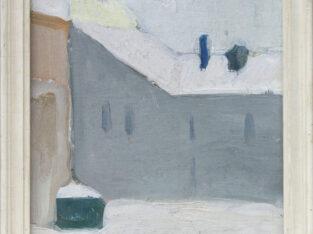 Jonas ARULIS (g.1954). Miesto peizažas žiemą, 1978.