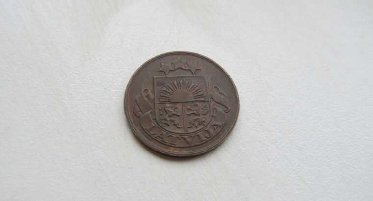 5 santimi , Latvija , 1922 .