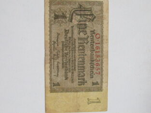1 rentenmark , Vokietija , 1937