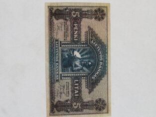 5 litai , Lietuva , 1922
