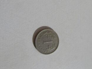 1 markka , Suomija , 1929 .