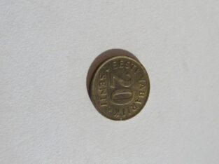20 senti , Estija , 1992