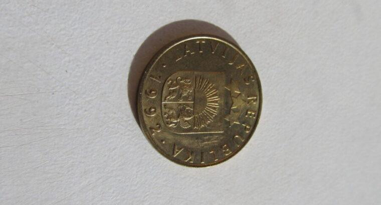 20 santimu , Latvija , 1992