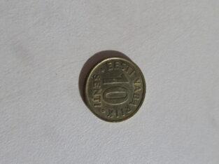 10 senti , Estija , 1998