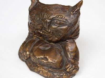Jūratis ZALENSAS (1952-2015). Piktas katinas, ~1982.