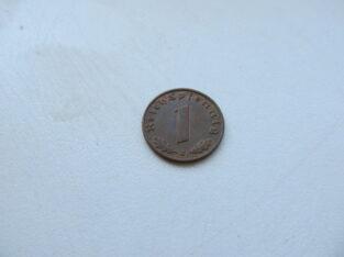 1 reichspfennig , Vokietija , 1939 J