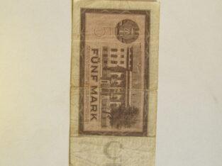 5 mark , Demokratinė Vokietija , 1964