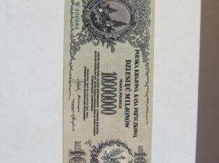 10 milijonu marek , Lenkija , 1923