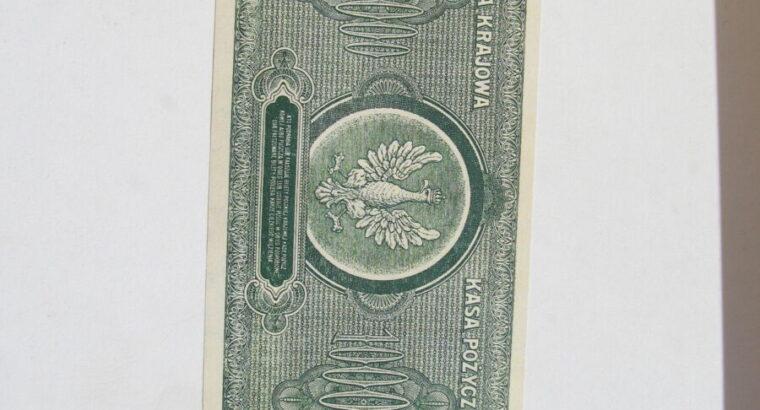 1 milijonas marek , Lenkija , 1923