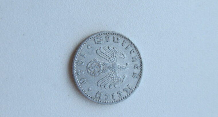 50 reichspfennig , Vokietija , 1940 A .