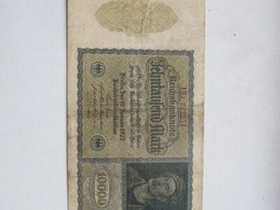 10 000 mark , Vokietija , 1922