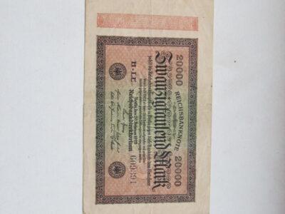 20 000 mark , Vokietija , 1923