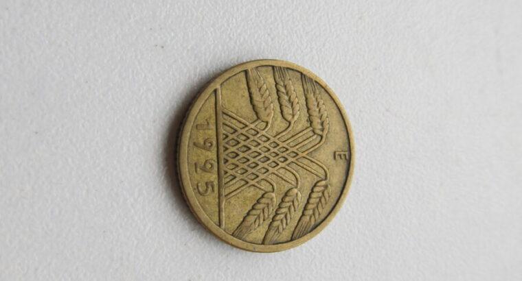 10 reichspfennig , Vokietija , 1925 E