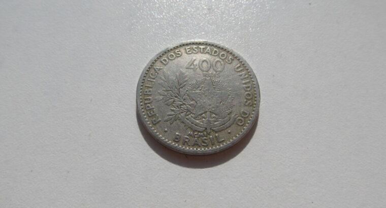 400 reis , Brazilija , 1901