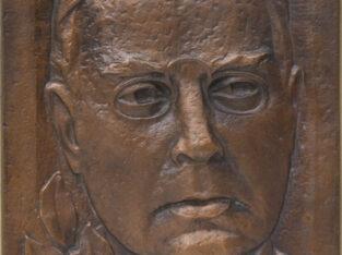 Vladas ŽUKLYS (1917-2013). Maironis, 1988, bareljefas.